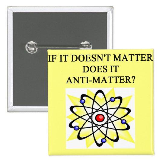 A Great Physics Design 15 Cm Square Badge