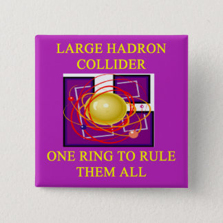 A Great Physics Design 15 Cm Square Badge