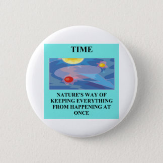 A Great Physics Design 6 Cm Round Badge