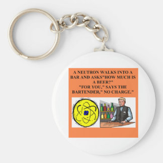 A Great Physics Design Basic Round Button Key Ring