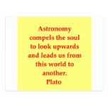 A great Plato quote Postcard