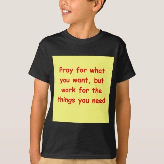 a great sufi saying T-Shirt