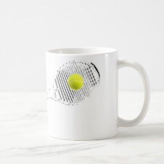 A great Tennis Lover Design Basic White Mug