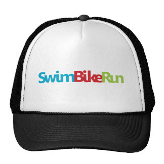 A great Triathlon gift for your friend or family Trucker Hats