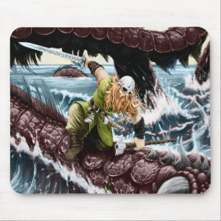 A great Viking chief Mouse Pad