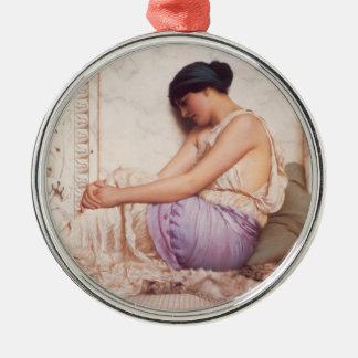 A Grecian Girl Christmas Ornament