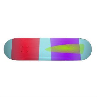 A Green Fang 21.6 Cm Skateboard Deck