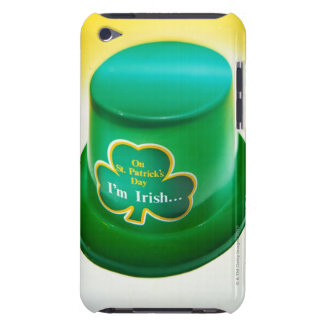 a green leprechaun hat barely there iPod case