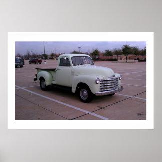 A Green Truck Print