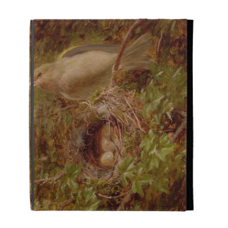 A Greenfinch at its Nest, 1877 (oil on panel) iPad Cases