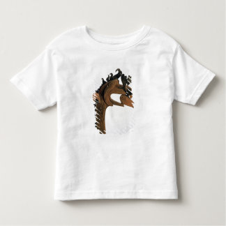 A griffin holding a deer in its beak toddler T-Shirt