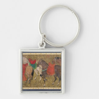 A Groom with Horses Key Chains