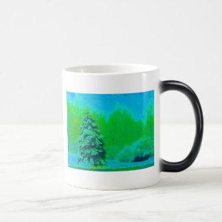 A Groovy Christmas Morphing Mug