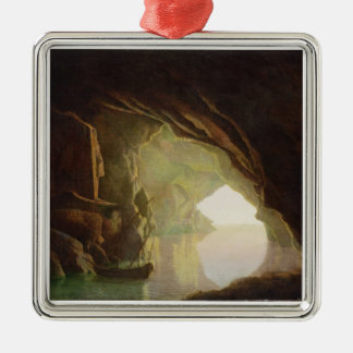 A Grotto in the Gulf of Salerno, Sunset, c.1780-1 Christmas Ornament