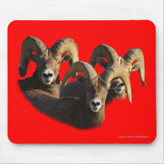 A Group of Rams Mousepad