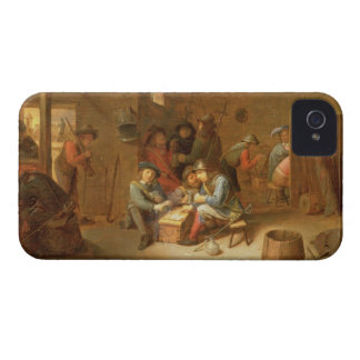 A Guardroom Interior with Soldiers playing Cards Case-Mate iPhone 4 Cases