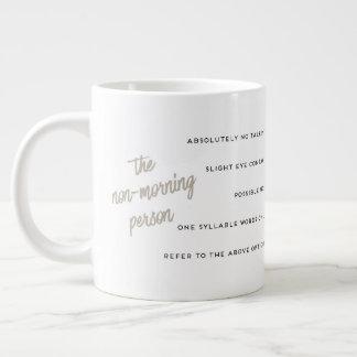 A Guide to the Non-Morning Person Mug