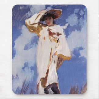A Gust of Wind by John Singer Sargent Mouse Mat