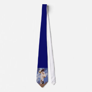 A Gust of Wind by John Singer Sargent Tie
