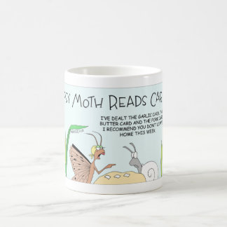 A Gypsy moth card reading Coffee Mug