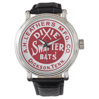A.H. Leathers Dixie Swatter Baseball Bats Dickson Watch