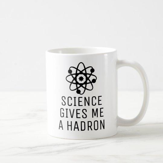 A Hadron for Science Coffee Mug