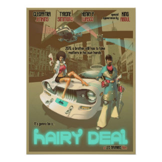 A Hairy Deal Poster