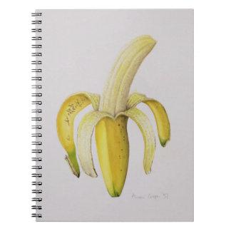 A Half-peeled Banana 1997 Spiral Notebooks