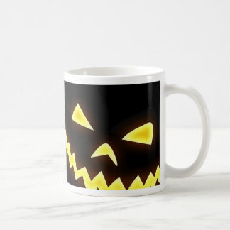 A Halloween wallpaper Basic White Mug