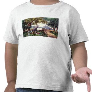 A Halt by the Wayside Tee Shirt