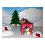 A Hamstery Present! Postcard