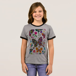 A hand made Clip art design t-shirt