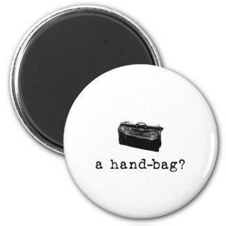 A Handbag? 6 Cm Round Magnet