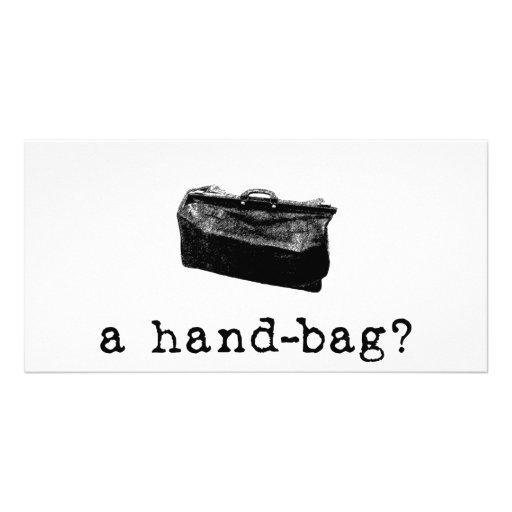 A Handbag? Picture Card