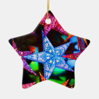 A handful of stars christmas ornament