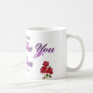 A happy Birthday Mom Mug! Basic White Mug