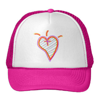A Happy Christian Heart Cap