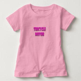 A happy, cute, funny, baby girl baby bodysuit