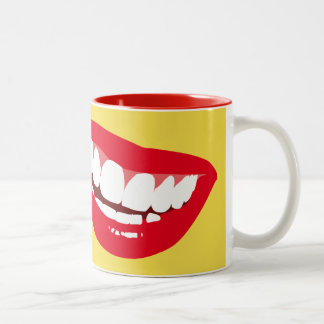 A HAPPY Day starts with a HAPPY SMILE Funny Mug