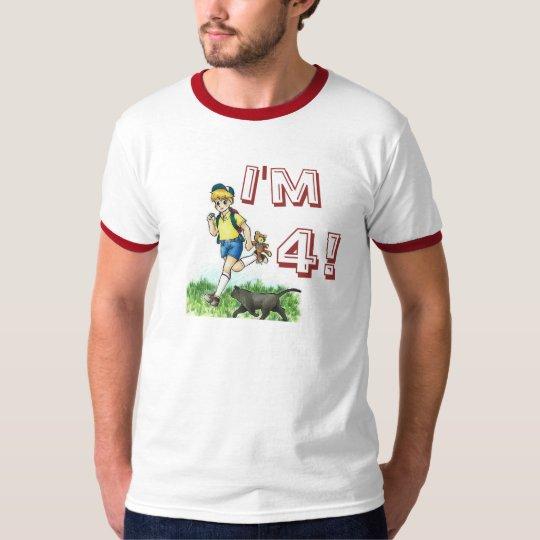 A happy four year old boy T-Shirt