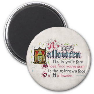 A Happy Hallowe'en Magnet