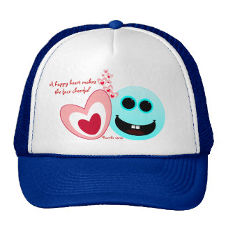 A Happy Heart - Proverbs 15:13 NIV Cap