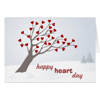 A Happy Heart Valentine's Day Card