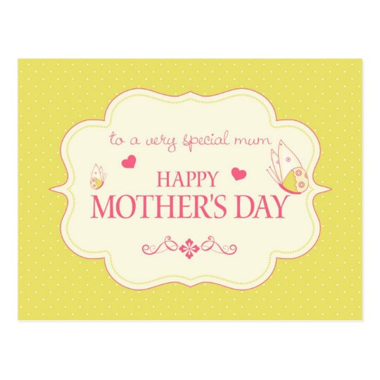 A Happy Mother's Day Greeting Card