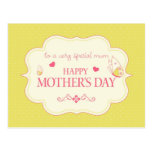 A Happy Mother's Day Greeting Card Postcard