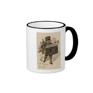 A Happy New YearIrish Mail Boy Mug