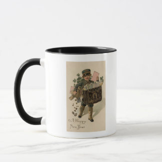 A Happy New YearIrish Mail Boy Mug