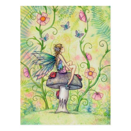 A Happy Place Garden Flower Fairy Fantasy Art