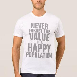 A Happy Population T-shirt -