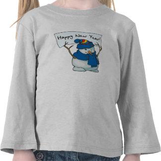 A Happy Snowman Tshirts